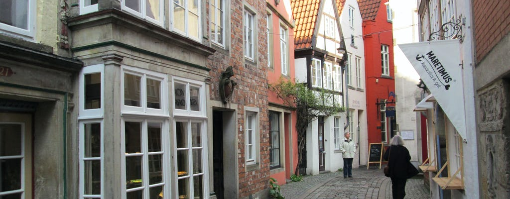 Guided walking tour of Bremen's Schnoor area