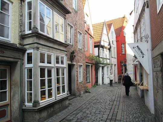 Begeleide wandeling door de wijk Schnoor in Bremen