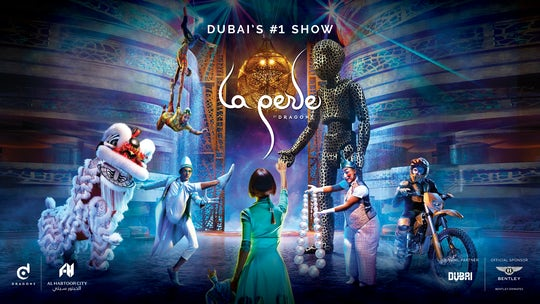 La Perle by Dragone tickets in Dubai