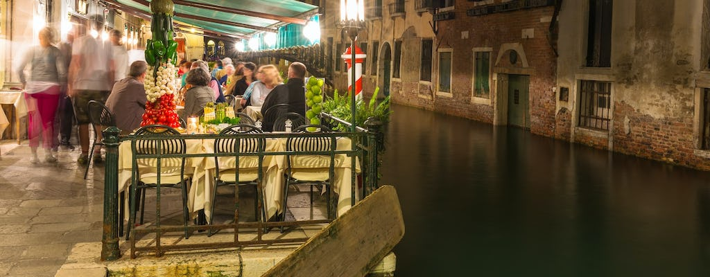 Special evening in Venice: Venetian savours, legends and ghosts of Venice tour