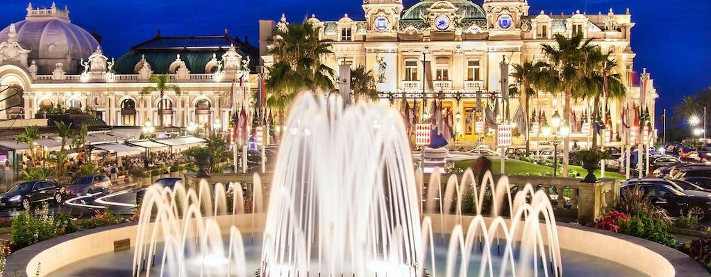 Wycieczka grupowa Monaco nocą