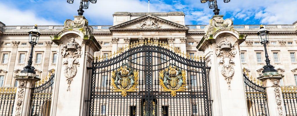Wycieczka po pałacu Buckingham z biletem wstępu bez kolejki i zmiana warty