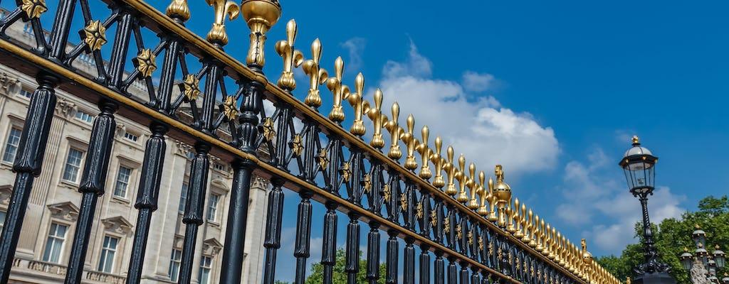 Wycieczka po pałacu Buckingham z wstępem bez kolejki oraz królewski spacer i podwieczorek