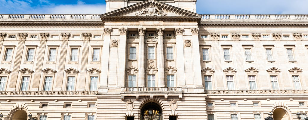 Buckingham Palace tickets with royal walking tour