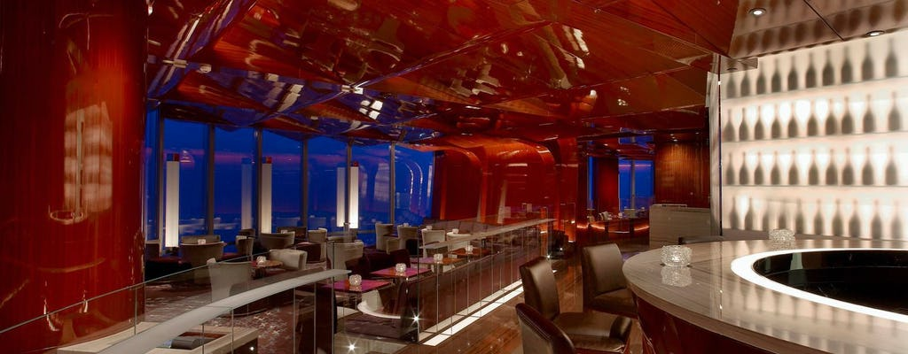 Atmosphere dining at Burj Khalifa and Dubai by night experience