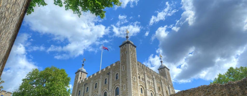 Billets pour la tour de Londres, les joyaux de la Couronne et une visite à pied avec un Yeoman Warder