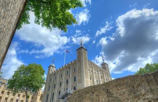 Torre di Londra: biglietti d'ingresso e tour dei gioielli e delle guardie della Corona