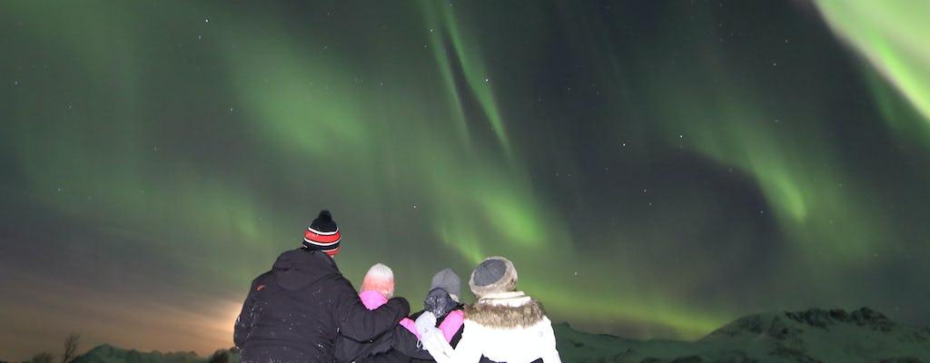 Espectáculo de luces del norte de Svolvaer