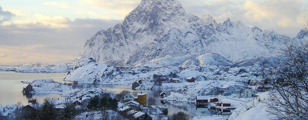 Tour de 5 horas de invierno por las islas Lofoten.