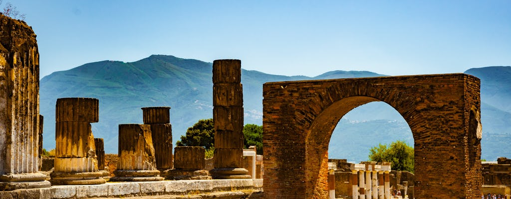 Visita guiada privada de 2 horas de Pompéia com um arqueólogo
