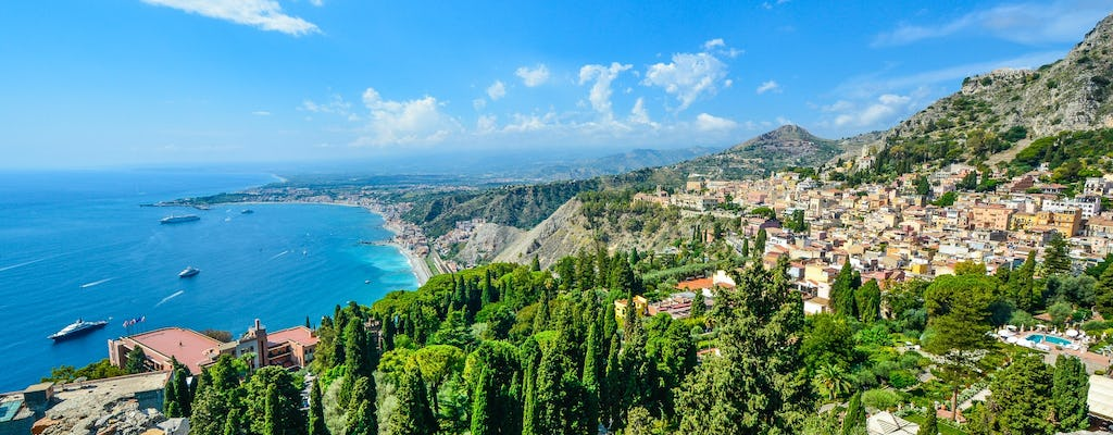 Taormina private tour with an expert guide