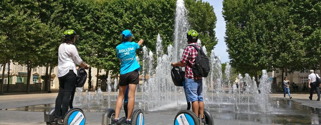 Self-balancing scooter tour in Montpellier old and new town