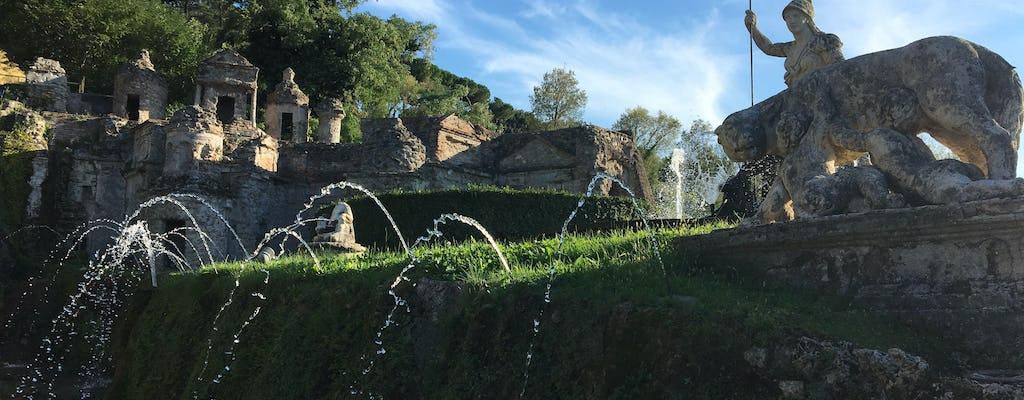 Отдельный день экскурсия в Тиволи с Виллой десте и вилле Адриана из Рима