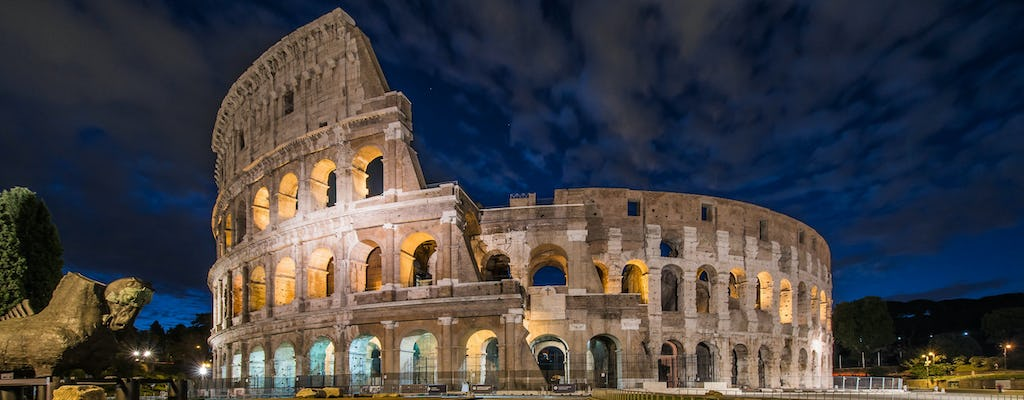 Night tour of Rome in an ape calessino