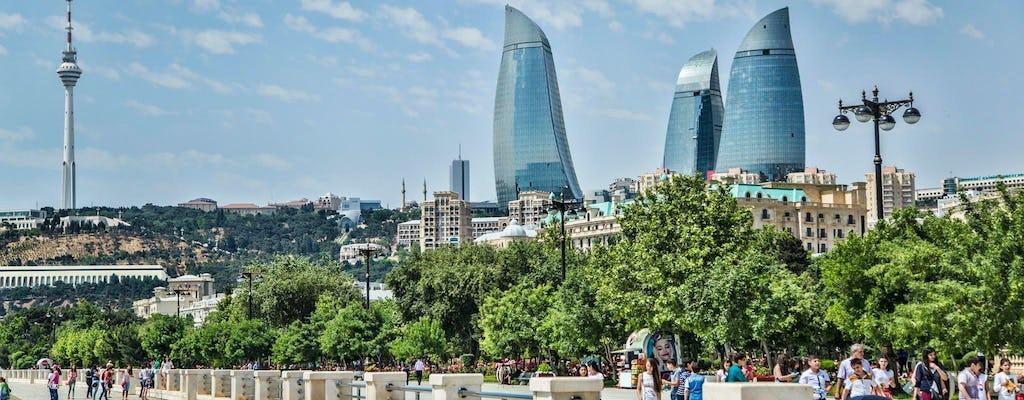Jednodniowa wycieczka po Baku z rejsu łodzią