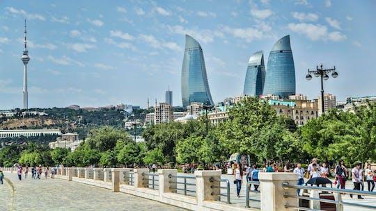 Excursão de dia de Baku com passeio de barco