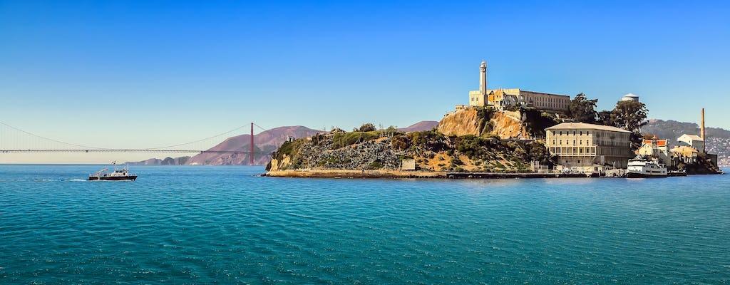 Alcatraz and Golden Gate Bridge to Beach walking tour