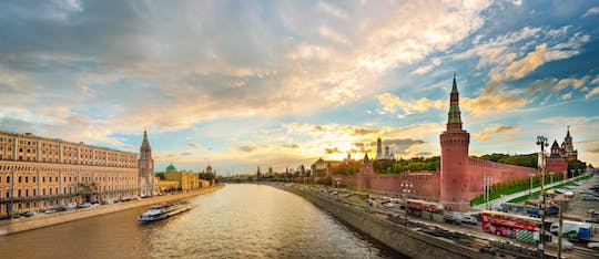 Cruise on the Moskva River