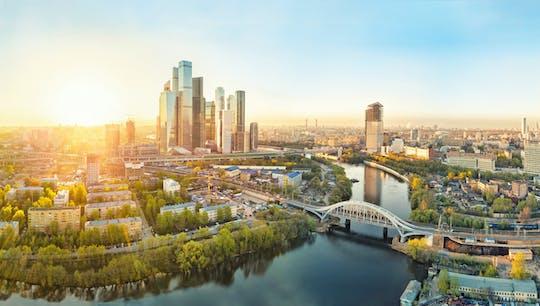 Bilhete de observação no 87º andar no centro de Moscou