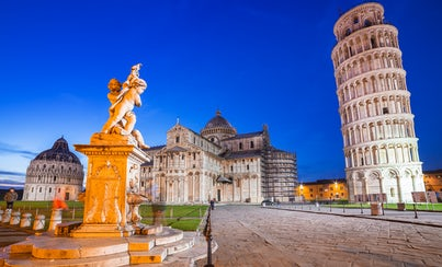 Ver la ciudad,Ver la ciudad,Tours andando,Torre de Pisa