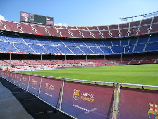 Private Camp Nou experience with entrance and guided visit