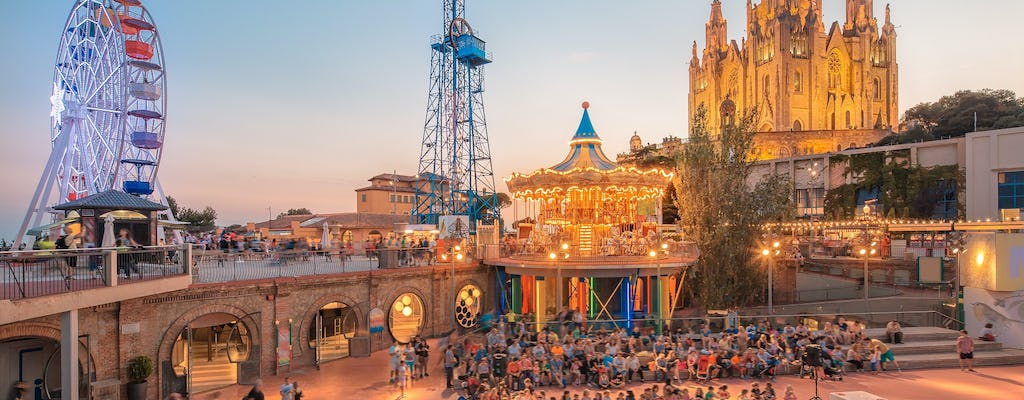 Tibidabo Amusement Park and Tibidabo Panoramic tickets