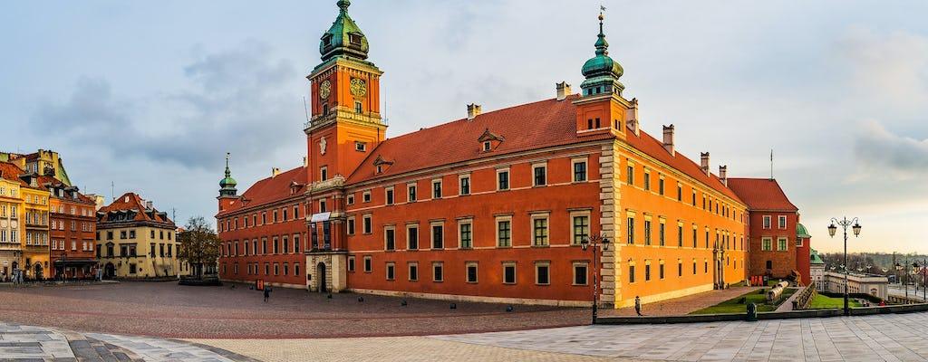 Varsavia in breve tour privato a piedi