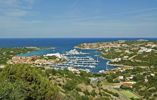Tour de minivan na Costa Smeralda da Sardenha com visita à vinícola