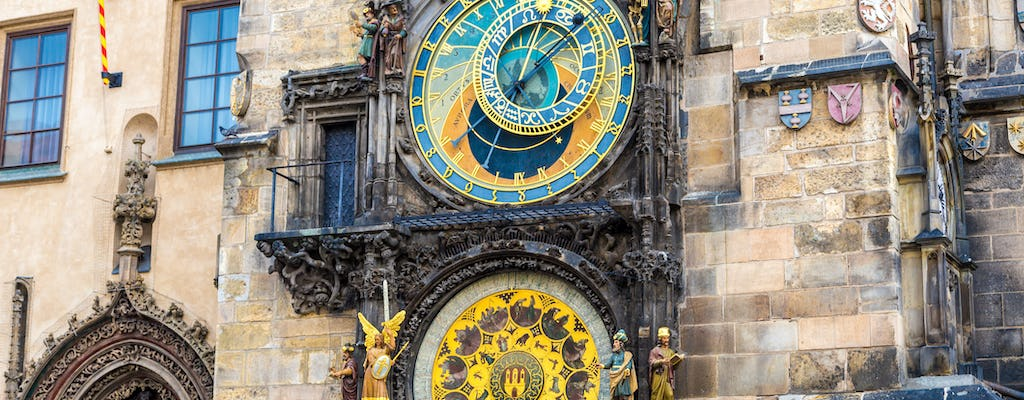 Prague walking tour with admission to the Astronomical Clock Tower