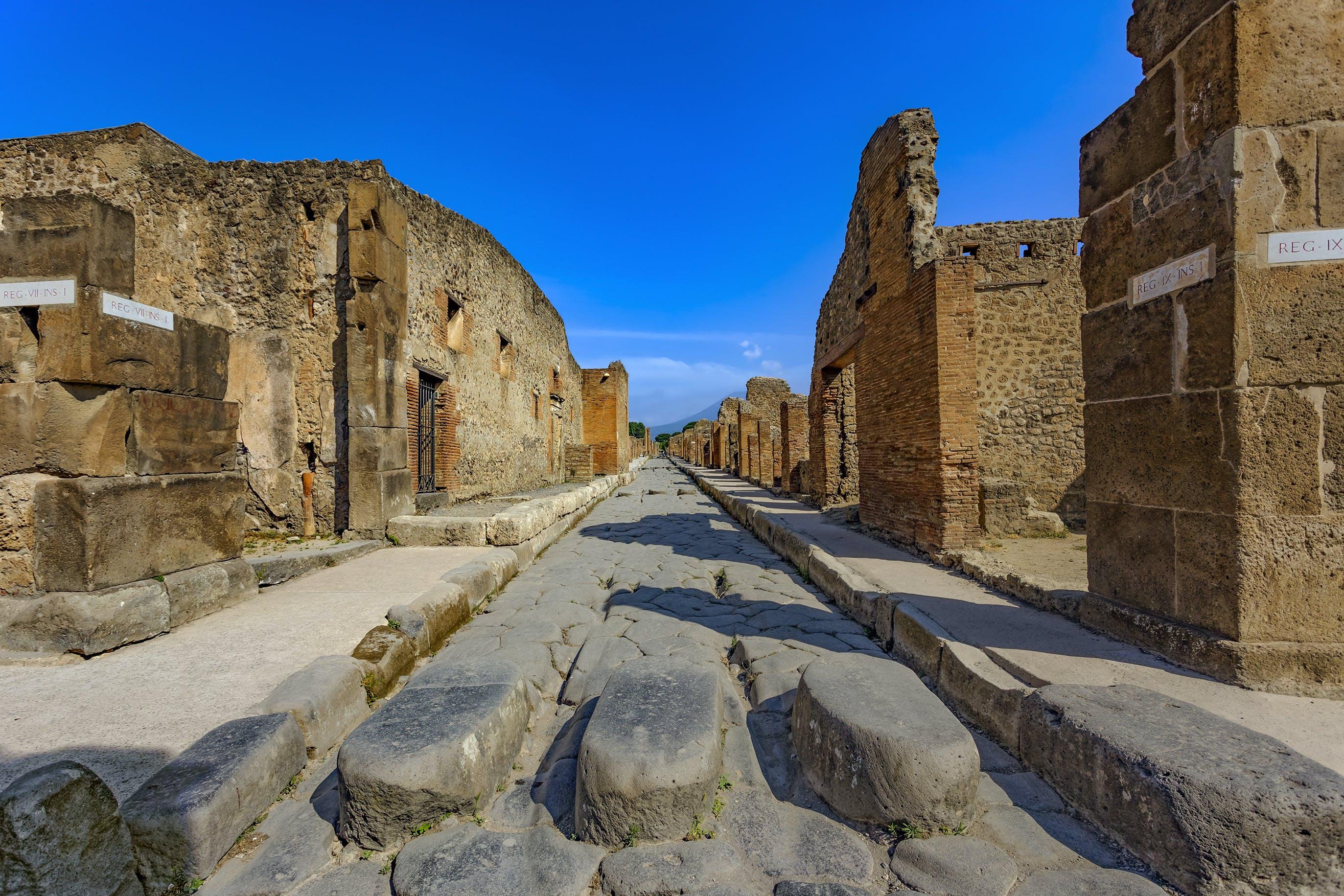 Skip-the-line bilety z opcjonalną wycieczką z przewodnikiem po Ruinach Pompejów