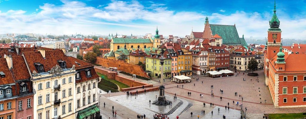 Visita della città privata di Varsavia in auto