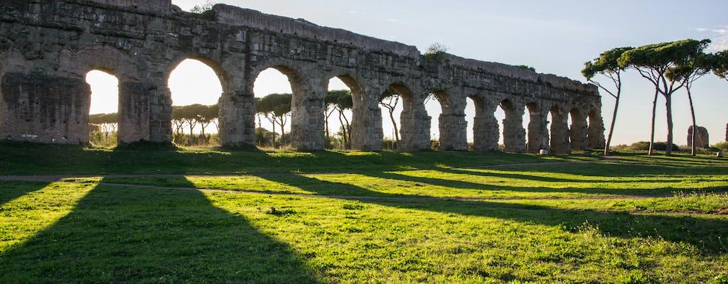 Tour en bicicleta de 6 horas a Appian Way y Aqueducts Park