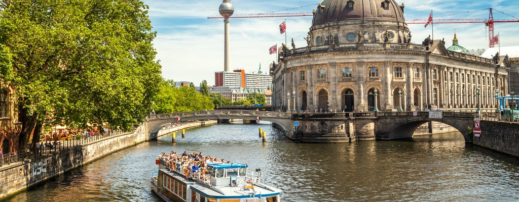 Berlin zu Land und zu Tour Wasser Kombi Erlebnis