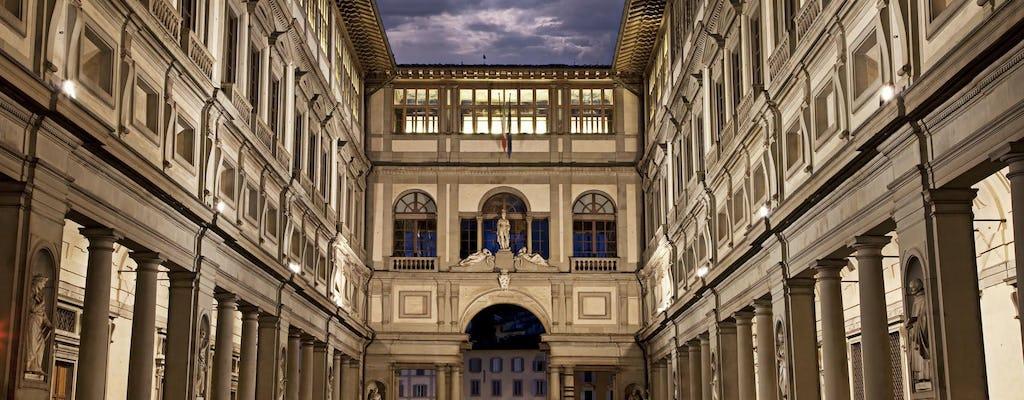 O melhor da Uffizi e  igreja Santa Croce com acesso pula fila