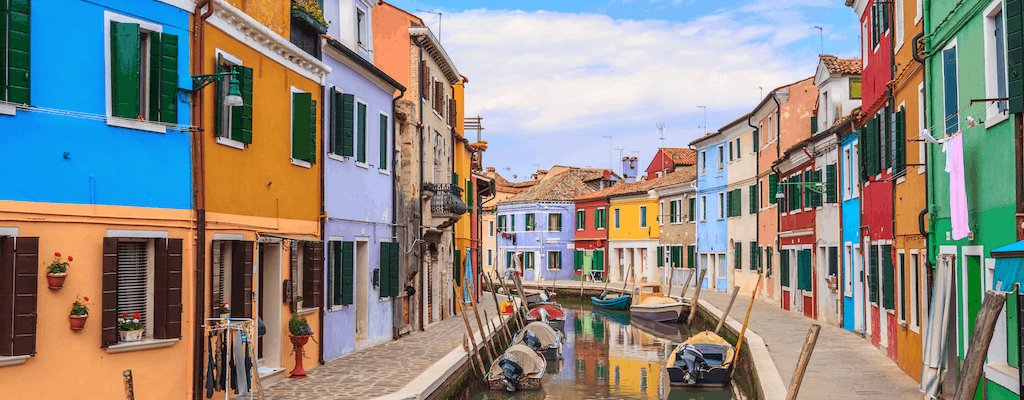 Half-day boat tour to Murano and Burano from Venice city center