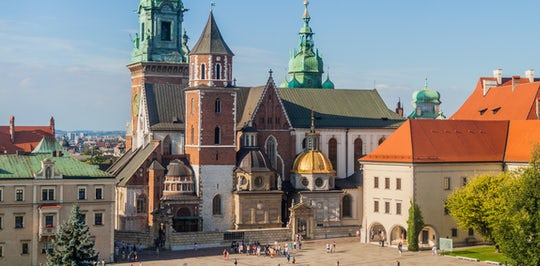 Krakow Wawel Castle Cathedral tour with audio guide