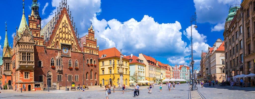 Excursão em pequeno grupo de dia inteiro a Wroclaw saindo de Varsóvia