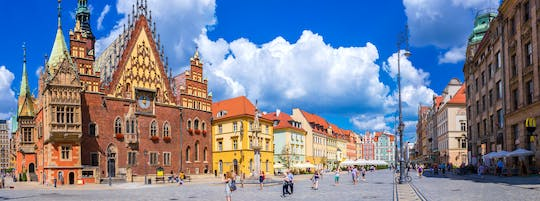Wroclaw day tour in small group from Warsaw