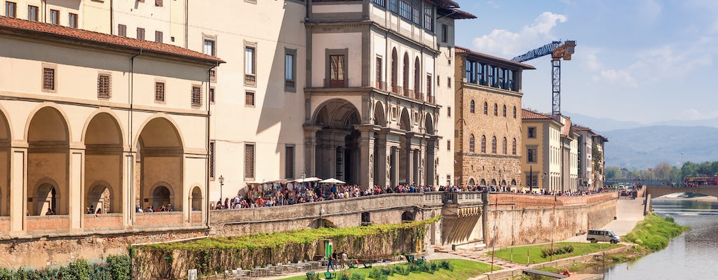 Florence walking tour with Uffizi and Accademia Gallery: skip-the-line tickets and guided visit