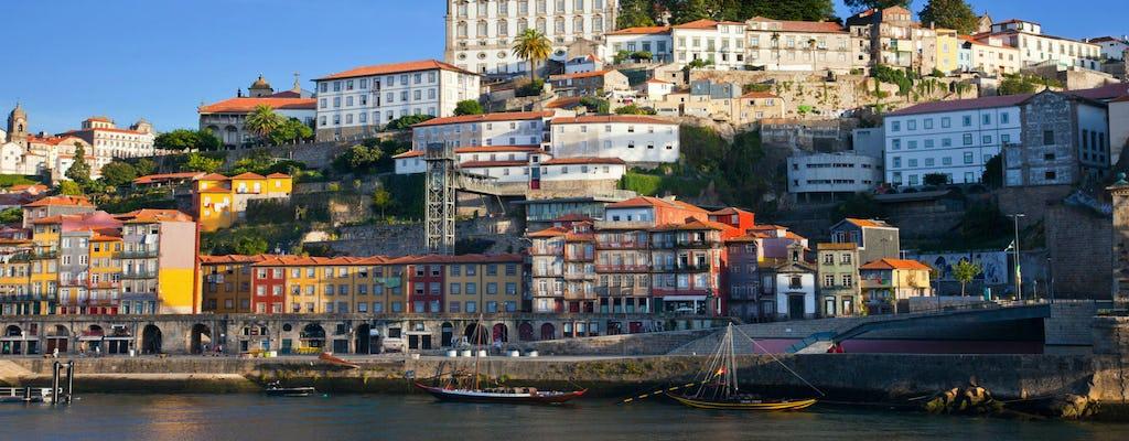 Tour privado de medio día en Oporto