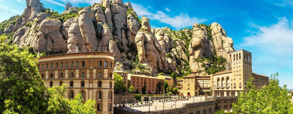 Excursión a Montserrat con cava y servicio de recogida privada desde Barcelona
