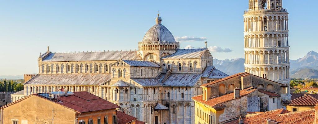 Visita guiada à Piazza dei Miracoli com entradas opcionais para a Torre de Pisa