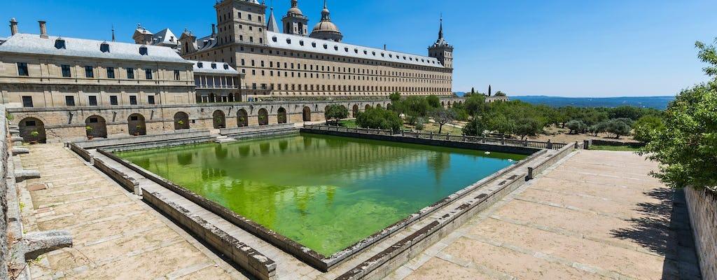 El Escorial, dolina poległych i Segovia oprowadziła z Madrytu