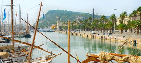 Mediterranean sea sailing trip from Barcelona