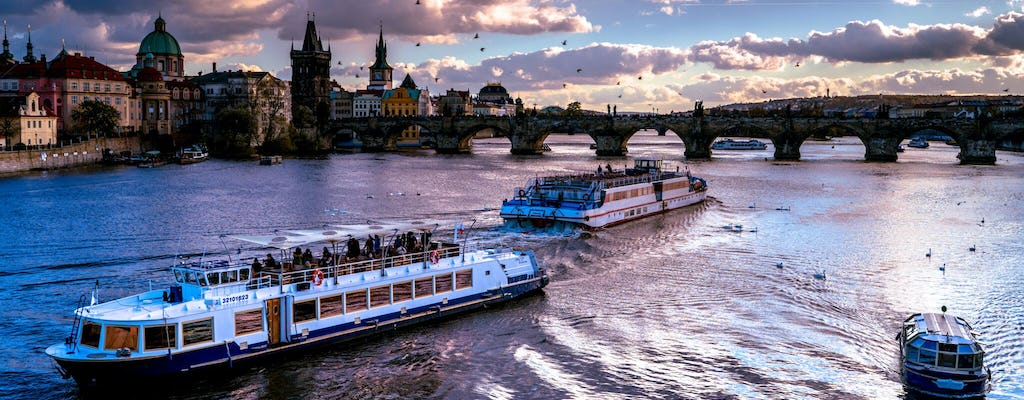 Prague one-hour cruise