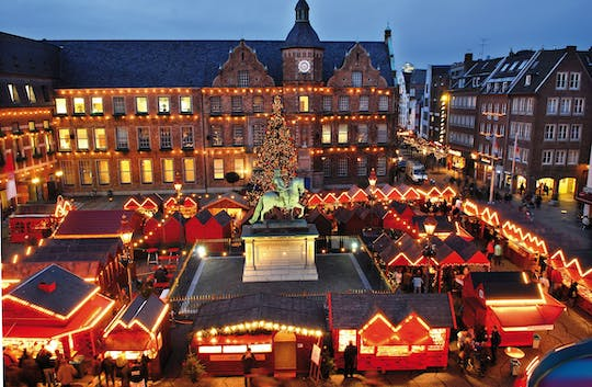 Christmas guided tour in Düsseldorf