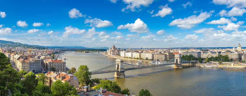 Budapest dinner cruise and Széchenyi thermal baths combo tour