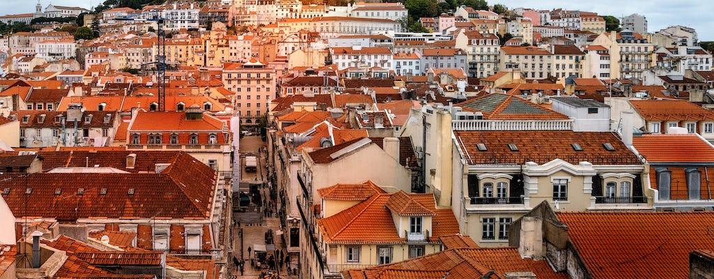 Vue de Lisbonne: visite partagée historique d'une journée complète