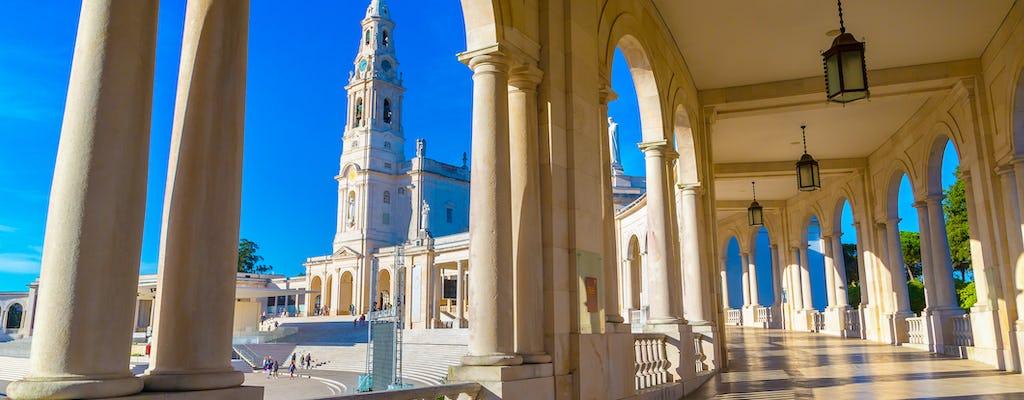 Fátima giornata intera con Óbido, Batalha, Nazaré
