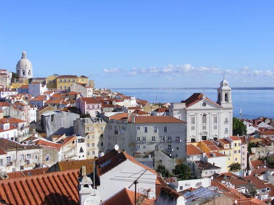 Lisbon full day tour  with  São Jorge castle guided tour